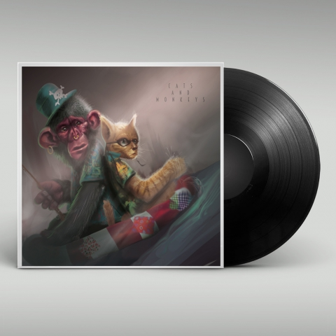 Cats and Mokeys - Cover Lp